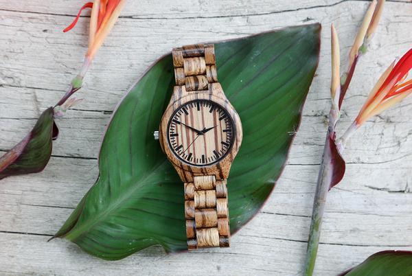 Kto poleca drewniany zegarek?