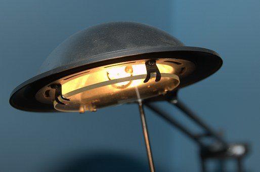 Energooszczędna lampa biurkowa