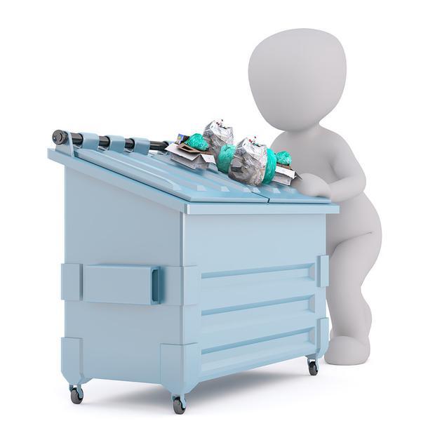 kontener na śmieci łódź
